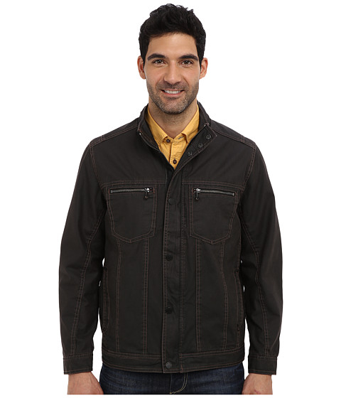 Tommy Bahama Denim - Flat Iron Jacket (Coffee) Men's Jacket