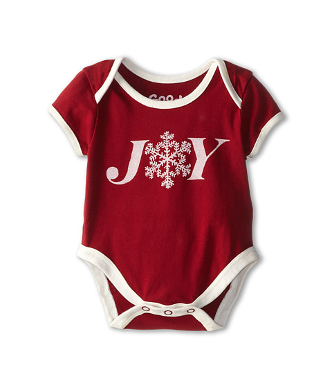 Life is good Kids - Joy One Peace (Infant) (Holiday Red) Kid's Jumpsuit & Rompers One Piece