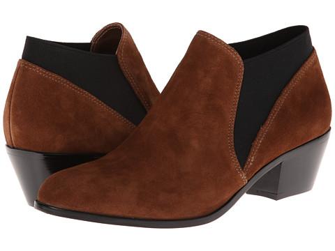 Via Spiga - Cleone (Tobacco Sport Suede/Elastic) Women's Shoes