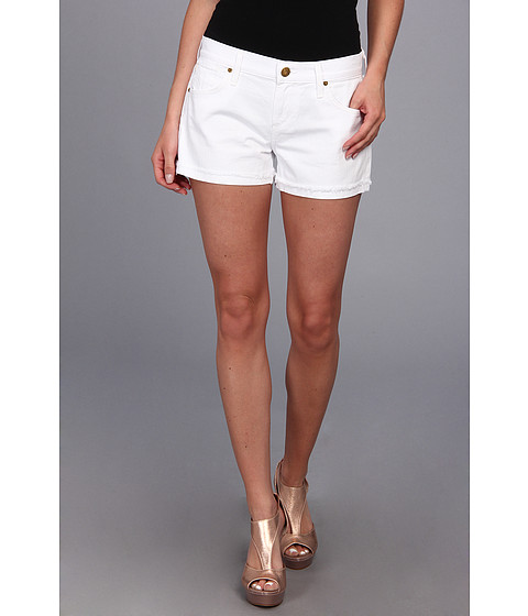 A Gold E - Zoe Cut-Off Short in Cote D'Azur (Cote d'Azur) Women's Shorts