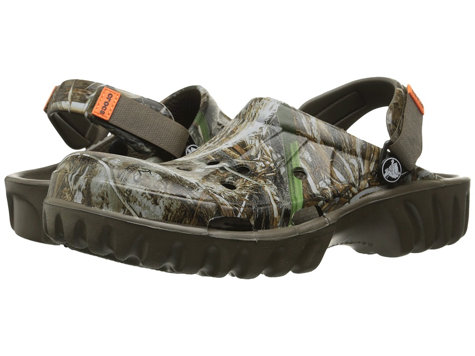 Crocs - Off Road Realtree Max-5 (Chocolate) Clog Shoes