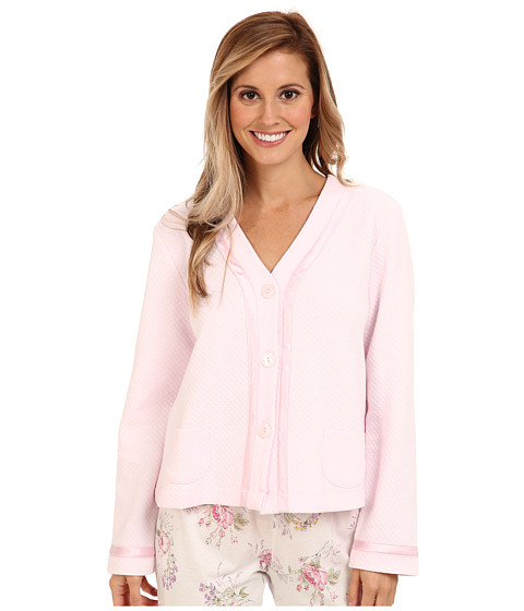 Carole Hochman - Essentials Bed Jacket (Twinkle Pink) Women's Pajama