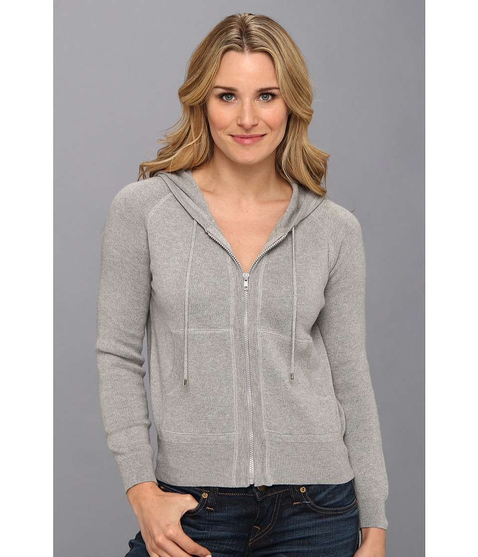 525 america - Zip Sweatshirt (Heather Grey) Women's Sweatshirt