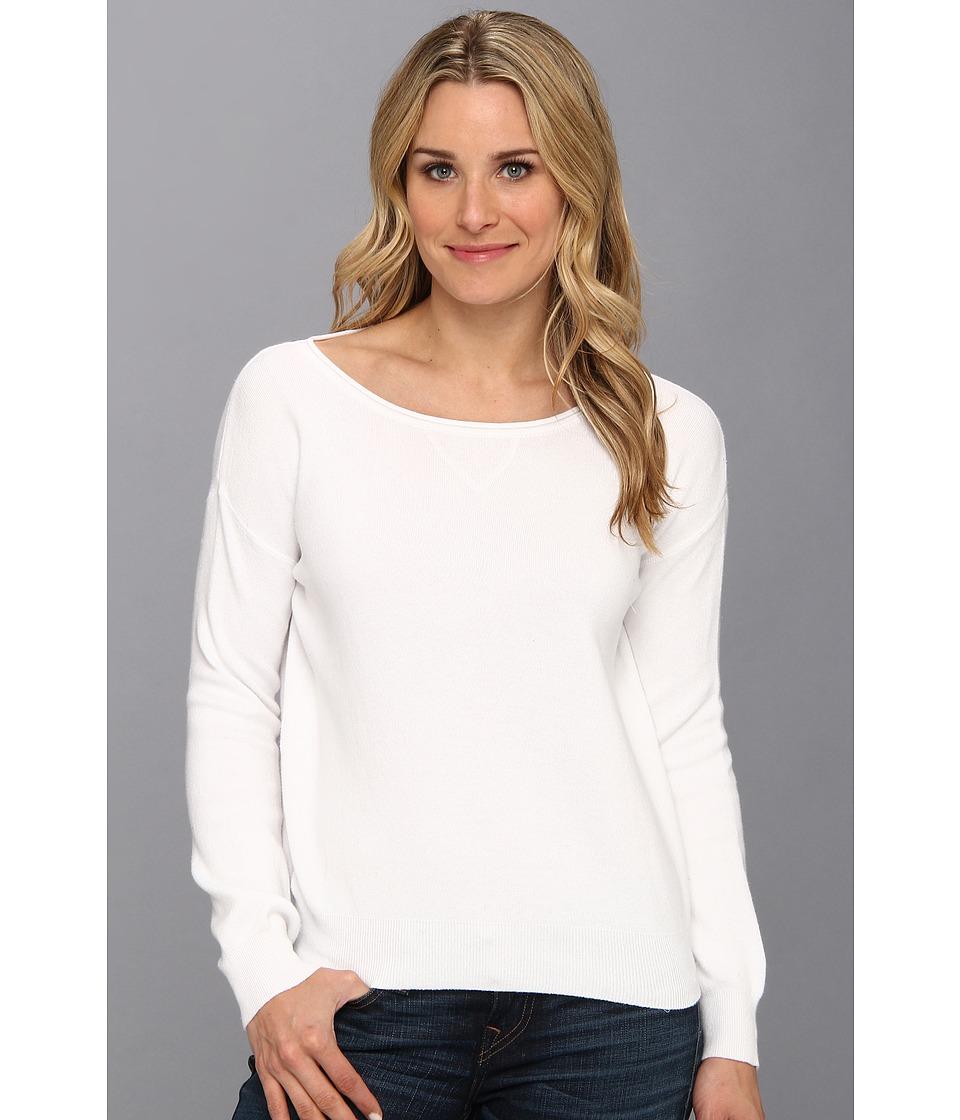 525 america - Pullover Sweatshirt (White) Women