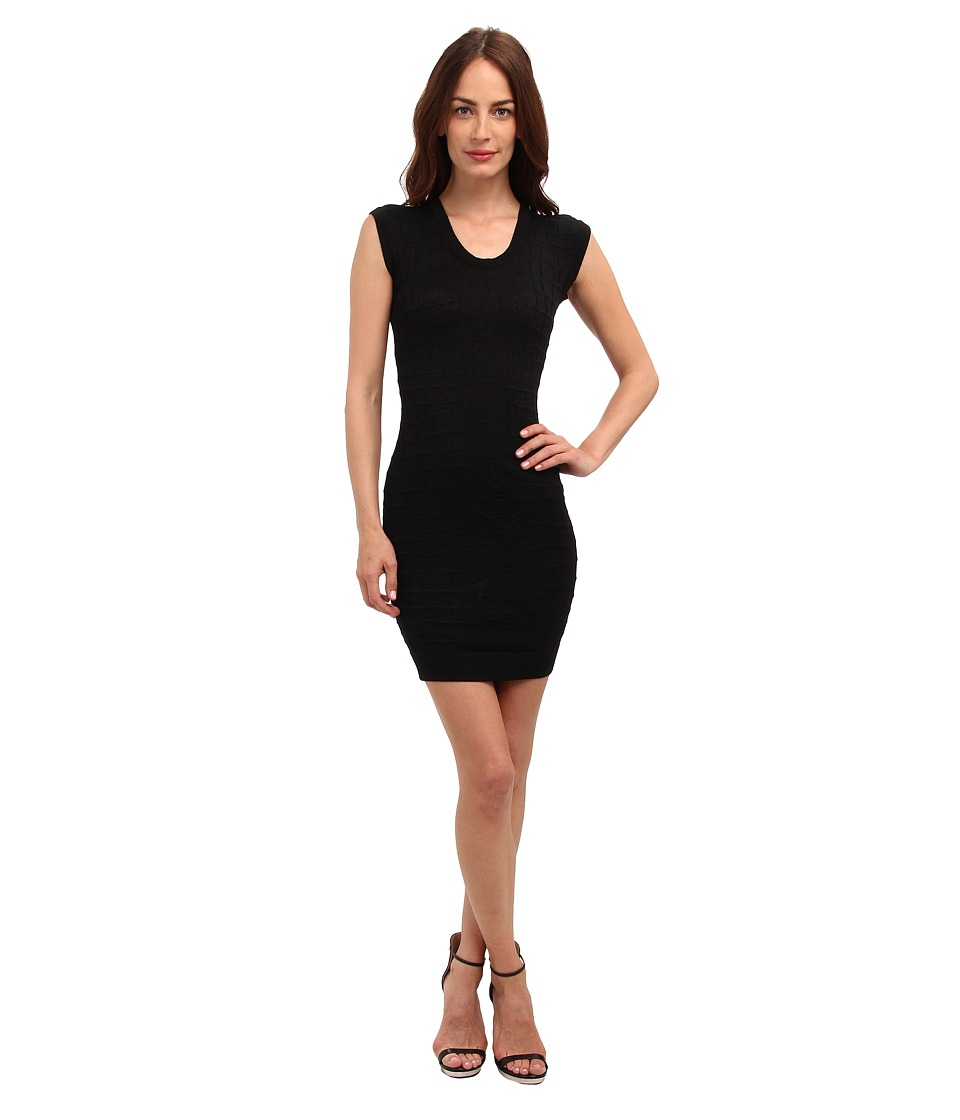 Just Cavalli - Body-Con Sweater Dress (Black) Women