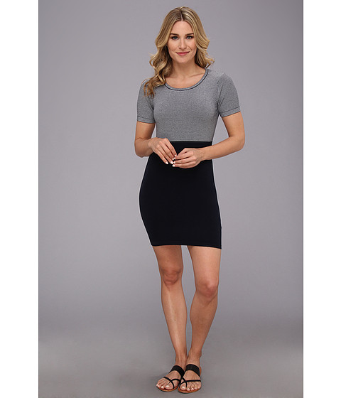 525 america - S/S Dress (Dark Navy) Women's Dress