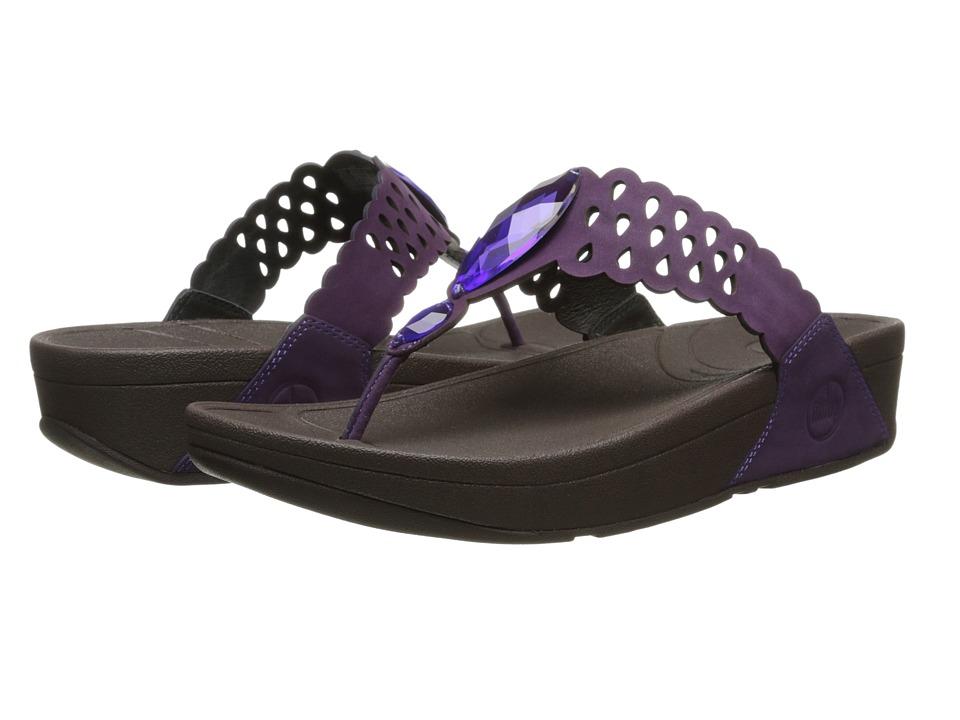 FitFlop - Bijoo (Pomp Purple) Women's Sandals