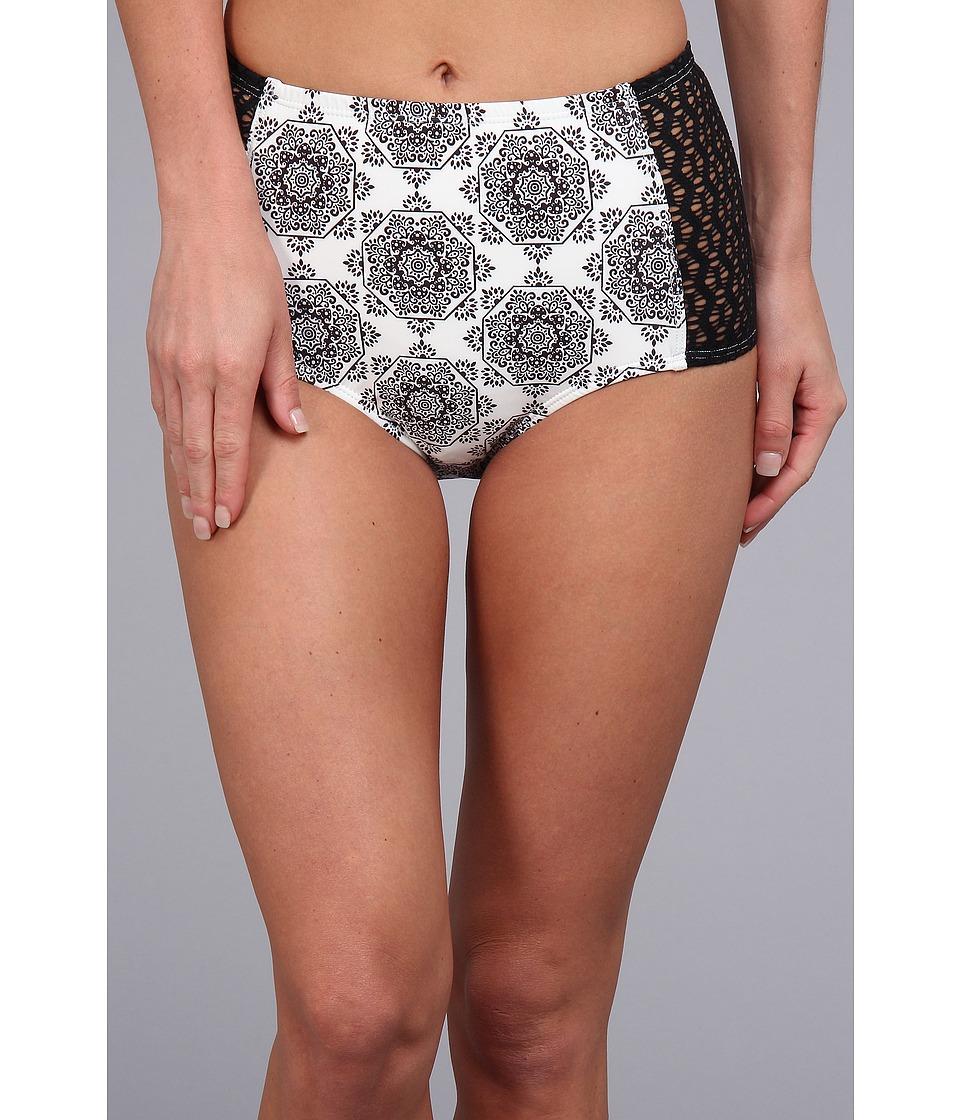Ella Moss - High Waist Pant (Cream) Women's Swimwear