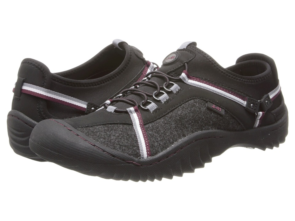 J-41 - Tahoe Felt (Black/Mahogany) Women's Shoes