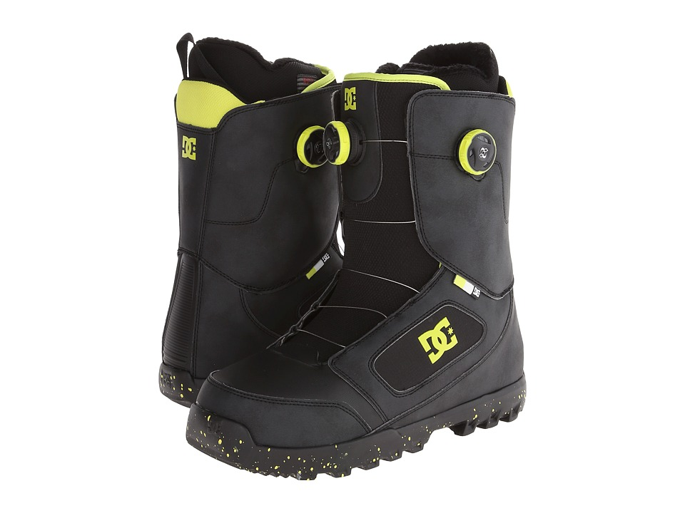 DC - Control (Black/Yellow) Men's Snow Shoes