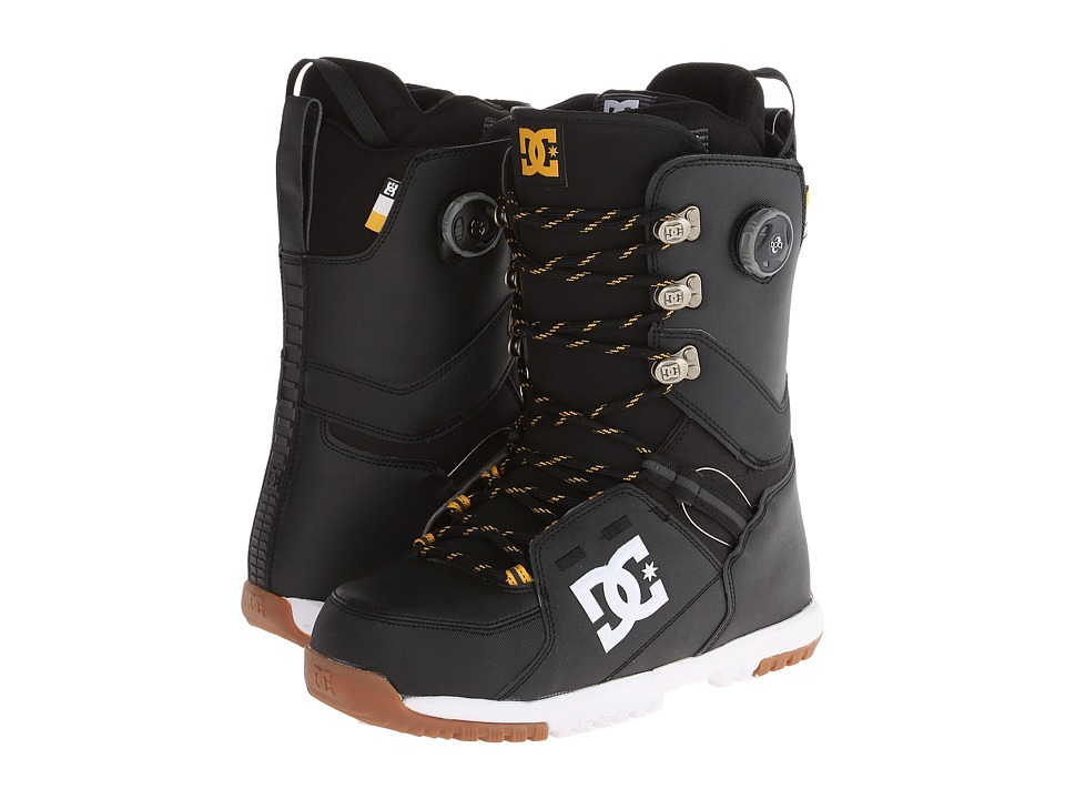 DC - Kush '14 (Black) Men's Snow Shoes