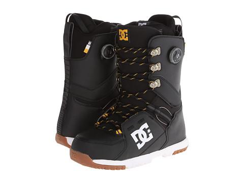 DC - Kush '14 (Black) Men's Snow Shoes