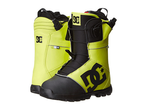 DC - Avaris '14 (Yellow/Black) Men's Snow Shoes
