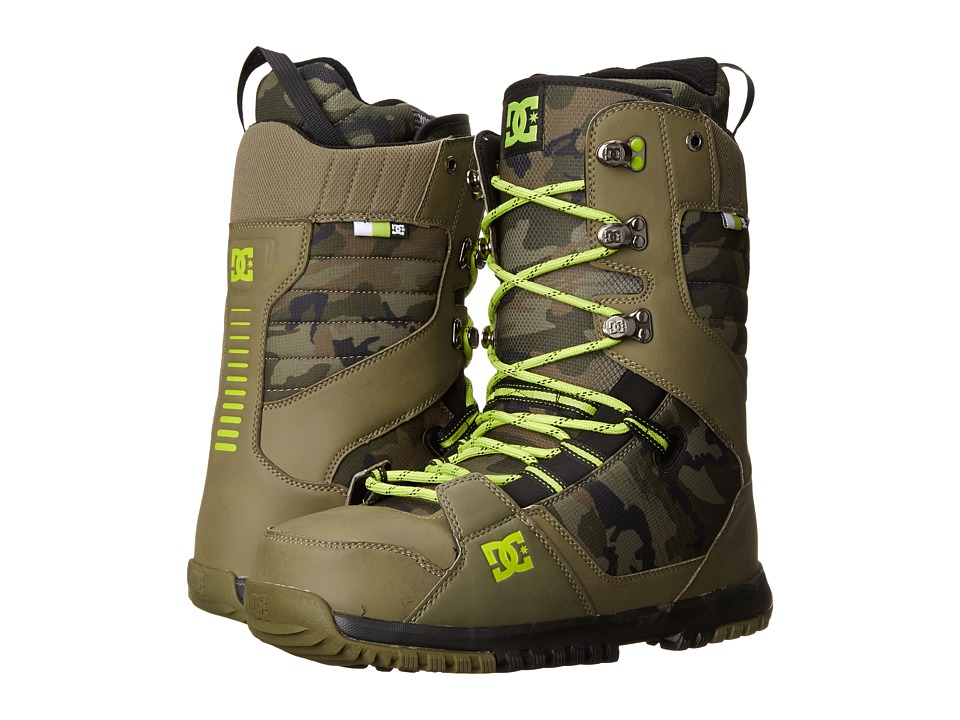 DC - Mutiny '14 (Camo) Men's Snow Shoes