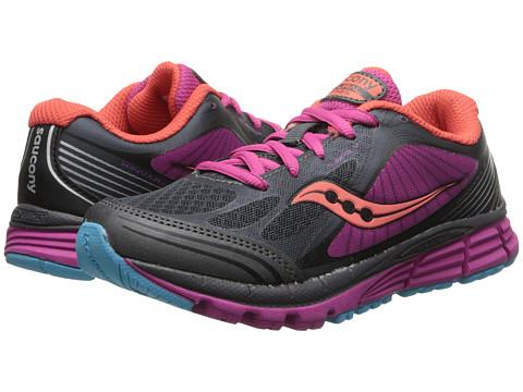 Saucony Kids - Kinvara 5 (Little Kid) (Black/Pink) Girls Shoes