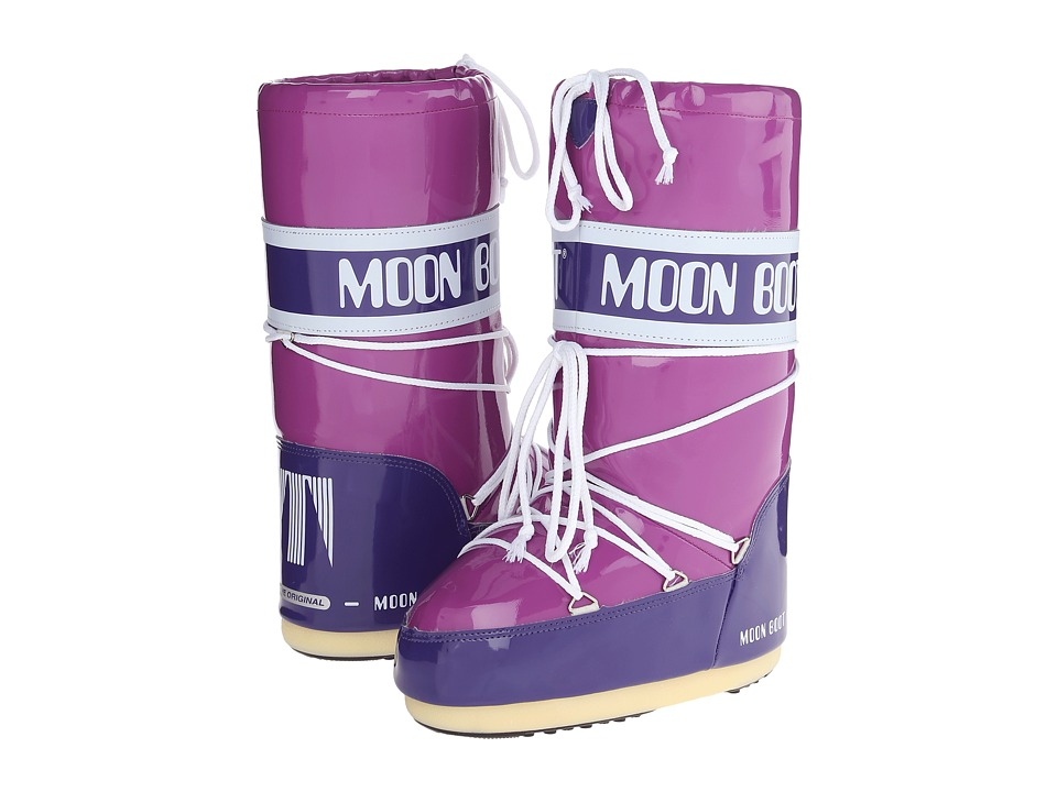 Tecnica - Moon Boot Vinyl (Cyclamen) Cold Weather Boots