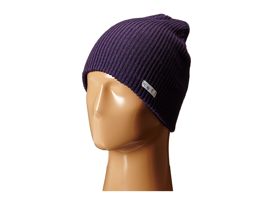 Neff - Daily Beanie (Dark Purple) Beanies