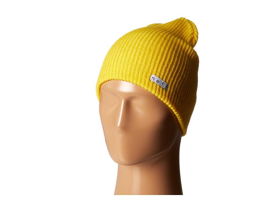 Neff - Daily Beanie (Neon Yellow) Beanies