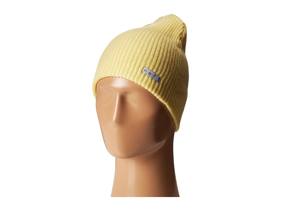 Neff - Daily Beanie (Light Yellow) Beanies