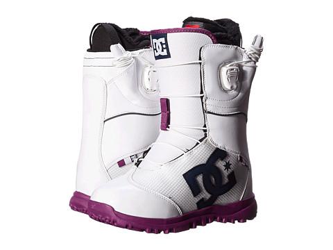 DC - Avour (White) Women's Snow Shoes