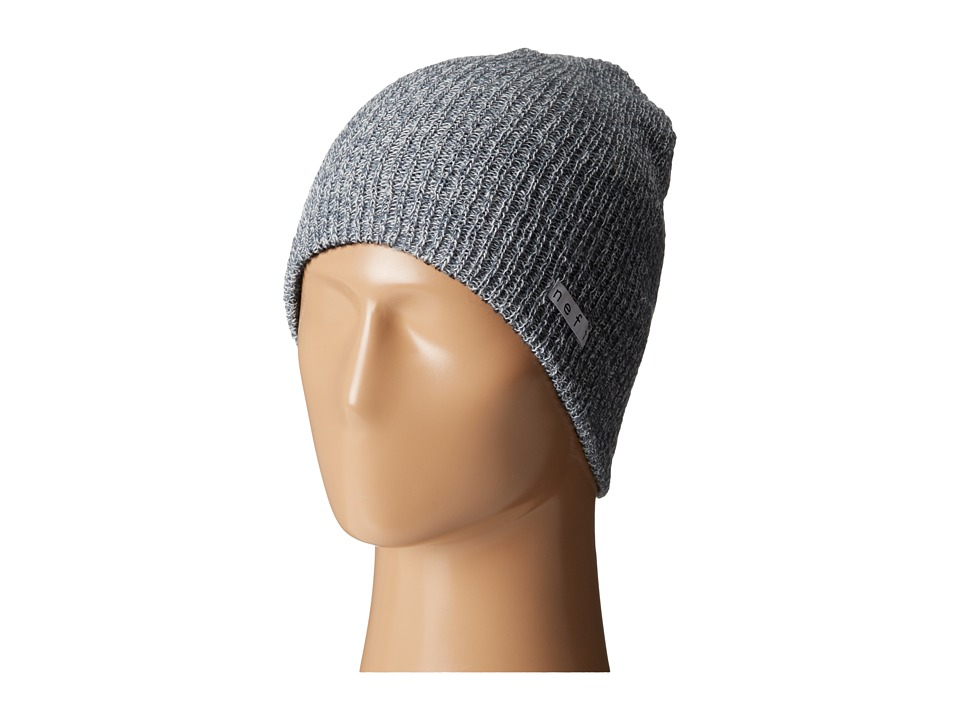 Neff - Daily Reversible Beanie (Black/Grey) Beanies