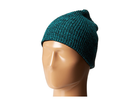 Neff - Daily Reversible Beanie (Black Green Heather/Black) Beanies