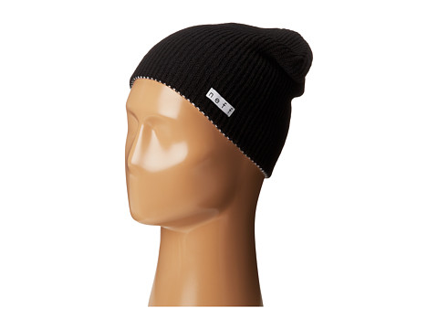 Neff - Daily Reversible Beanie (Black/White) Beanies