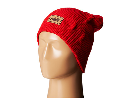Neff - Scratch Beanie (Red) Beanies