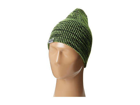 Neff - Slashy Beanie (Black/Green) Knit Hats