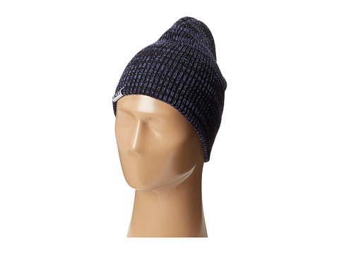 Neff - Slashy Beanie (Black/Teal/Purple) Knit Hats