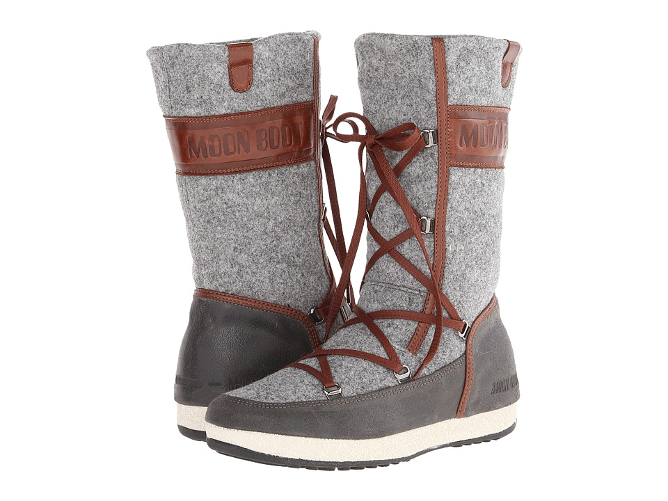 Tecnica - Moon Boot Ave II Felt (Gray) Women