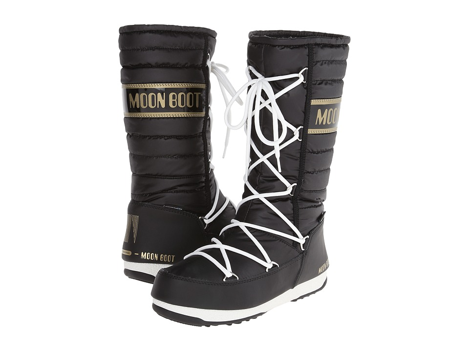 Tecnica - Moon Boot Quilted (Black) Women