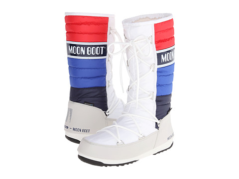 Tecnica - Moon Boot Quilted (White) Women's Cold Weather Boots