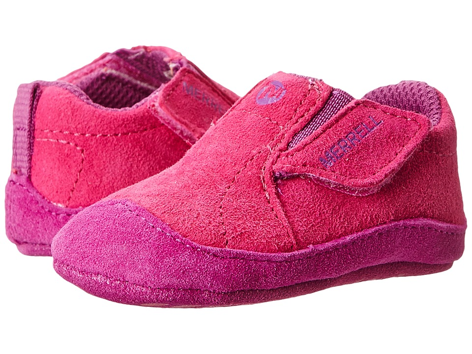 Merrell Kids - Jungle Moc Baby (Infant/Toddler) (Fuchsia) Girl's Shoes