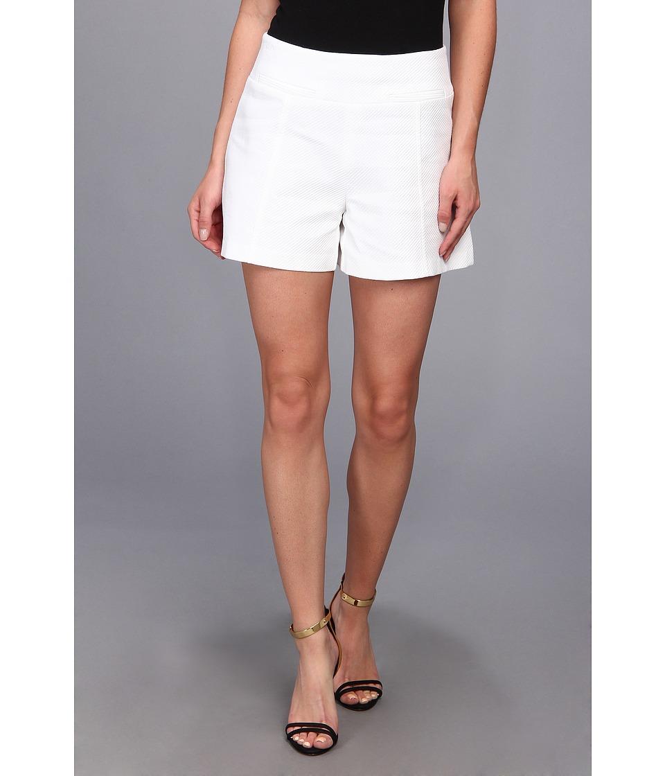 Nanette Lepore - Hideaway Short (White) Women