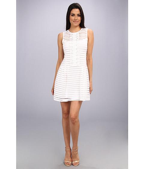 Nanette Lepore - Match Point Dress (White) Women's Dress