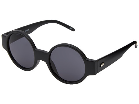 Le Specs - Rabbit Hole (Matte Black) Fashion Sunglasses