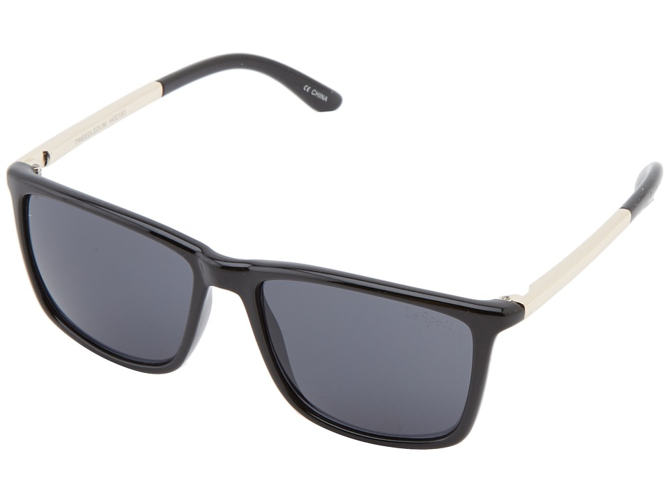 Le Specs - Tweedledum (Black) Fashion Sunglasses
