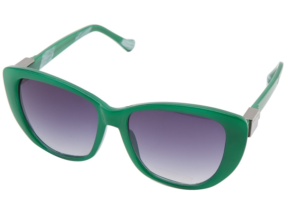 Ivanka Trump - IT 041 (Emerald) Plastic Frame Fashion Sunglasses