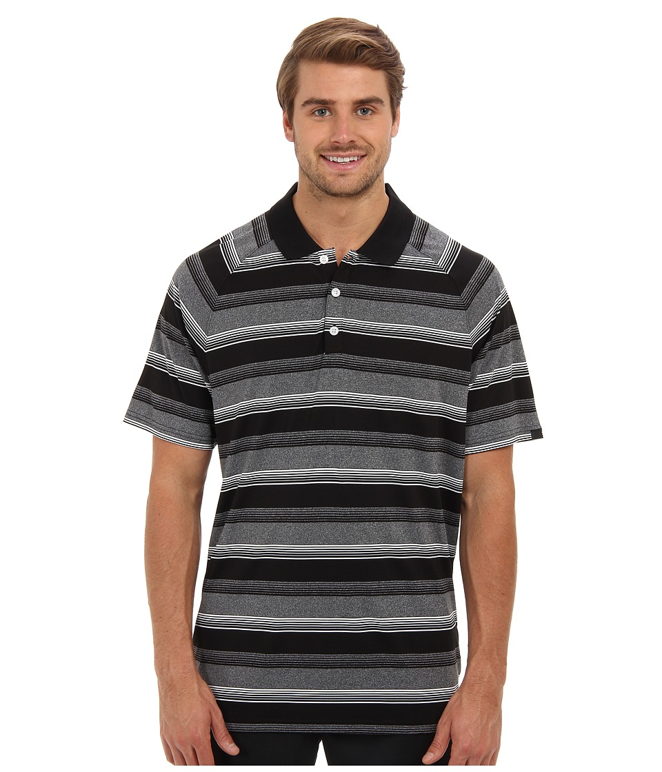 Oakley - Warren Polo (Jet Black) Men's Short Sleeve Pullover