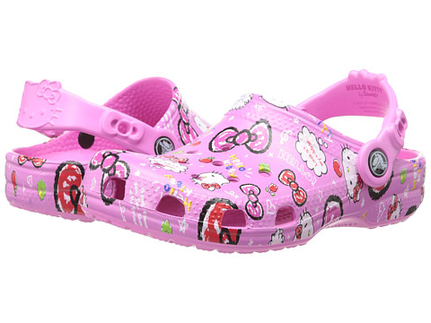 Crocs Kids - Hello Kitty Good Times (Toddler/Little Kid) (Party Pink) Girls Shoes