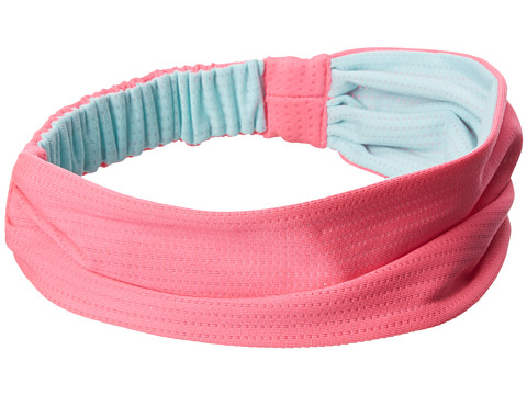 adidas Kids - Ultimate Micro Mesh Headband (Little Kid/Big Kid) (Solar Pink/Frost Mint) Headband