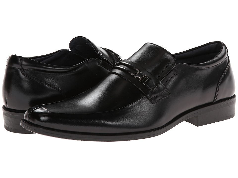 Steve Madden Cirka (Black Leather) Men