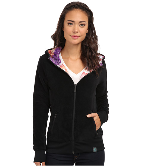Volcom Snow - Butter Fur Fleece (Black) Women