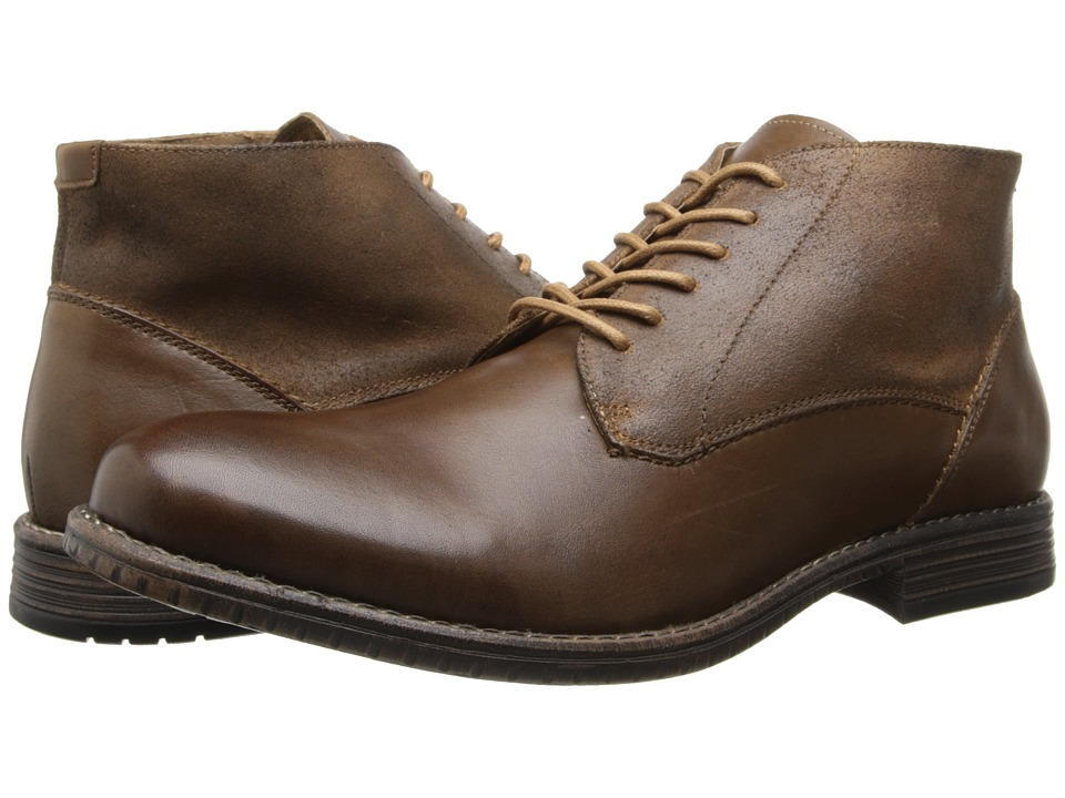 Steve Madden - Garisonn (Tan Leather) Men's Lace-up Boots