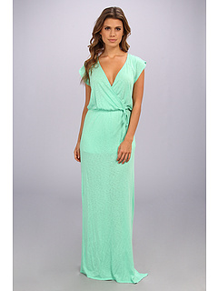 SALE! $64.99 - Save $42 on LAmade Slub Maxi Wrap Dress (Baja) Apparel - 39.26% OFF $107.00