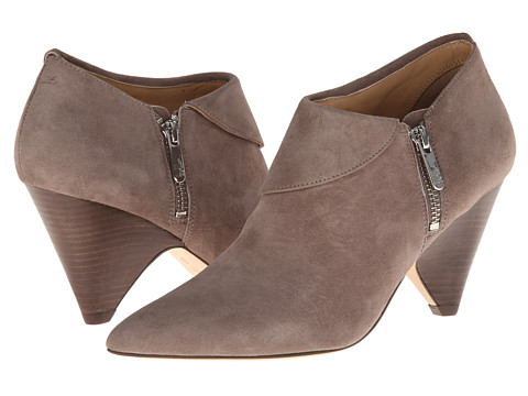 Belle by Sigerson Morrison - Erica (Taupe Suede) Women's Zip Boots