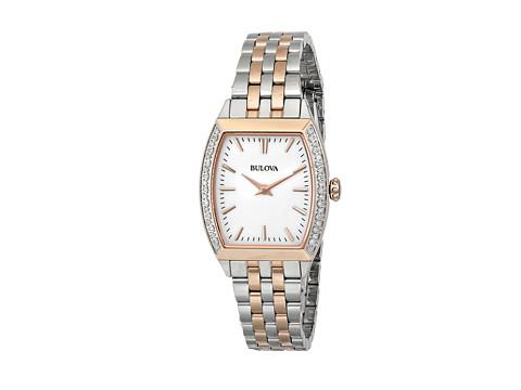 Bulova - Ladies Diamond Gallery - 98R200 (Rose Two Tone) Watches