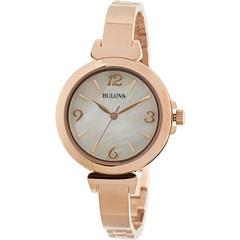 Bulova Ladies Dress - 97L137 (Rose) Dress Watches