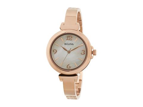 Bulova - Ladies Dress - 97L137 (Rose) Dress Watches